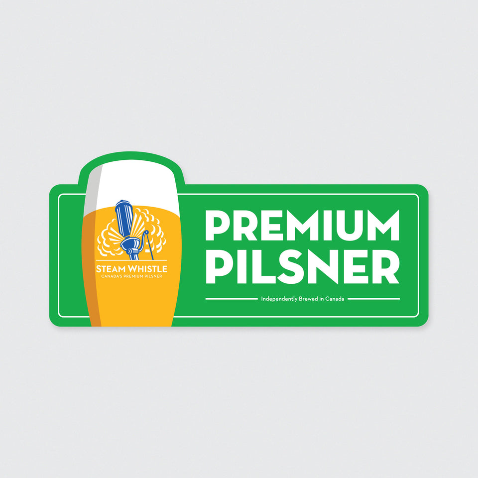 Pilsner Tin Sign