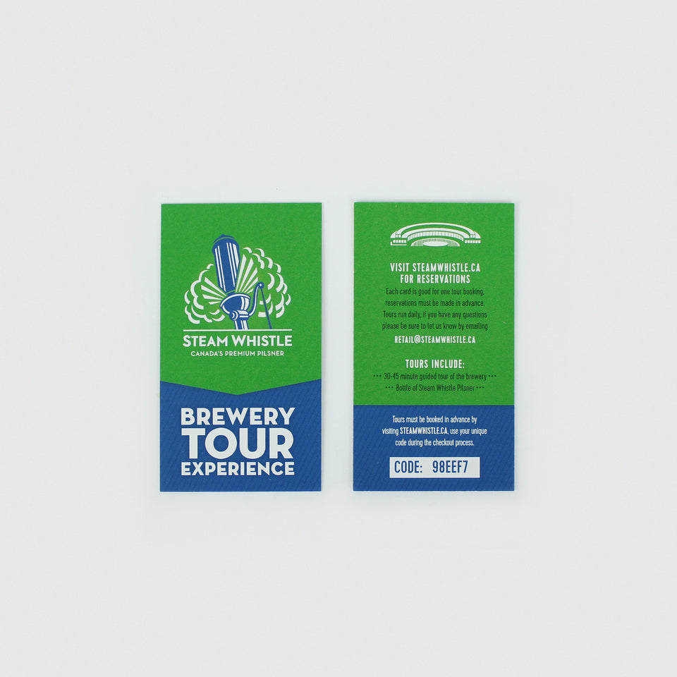 Brewery Tour Gift Pass