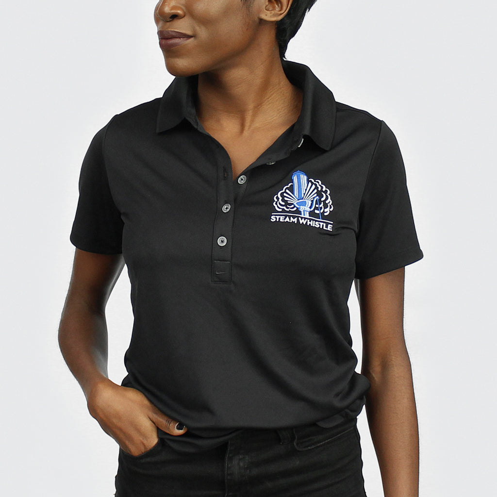 Nike Dri Fit Golf Shirt Ladies Steam Whistle Brewing No tears, rips or fading. steam whistle brewing