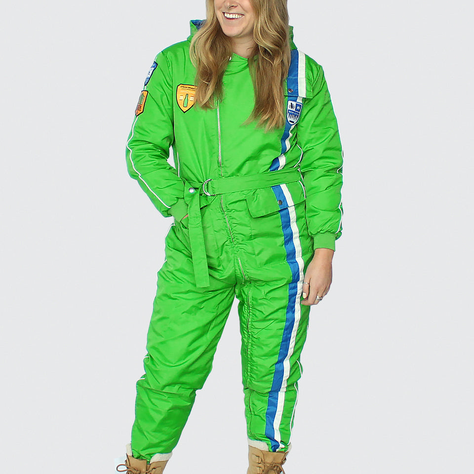 Retro Snow Suit