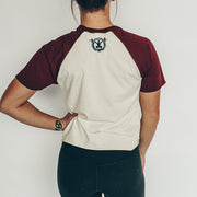 LIFT. REST. REPEAT. Two-Tone Tee