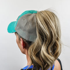 ~Ponytail~ Baseball Hat