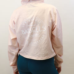 Retro Crop Windbreaker