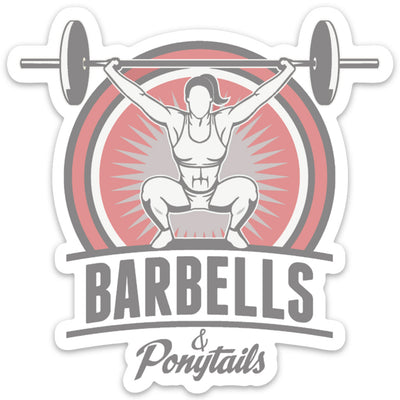 Barbells & PonytailsⓇ| OG Decal