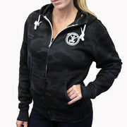 Low Squats Zip Up Hoodie
