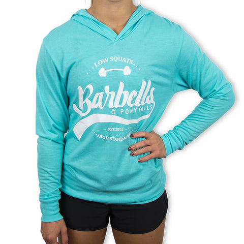 NEW! Muscle Beach Cropped Hoodie T