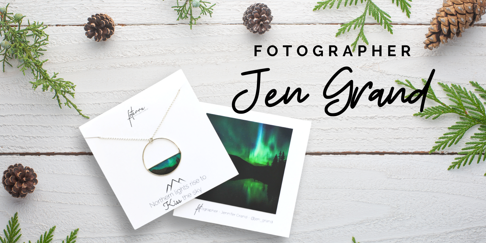 Northern Lights Jewelry By Fotographer Jen Grand