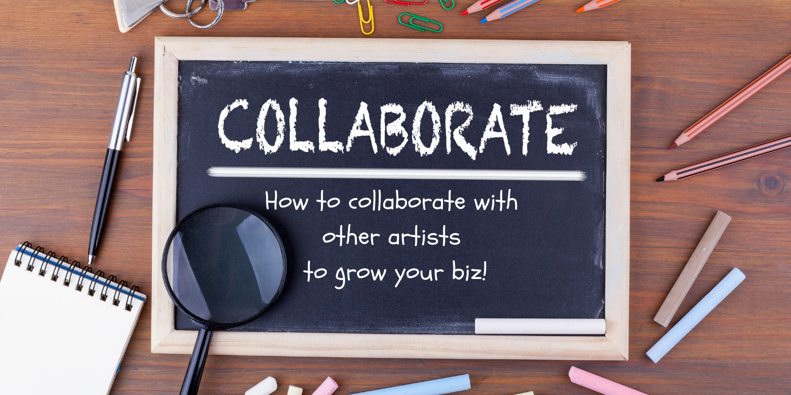 Grow your art business through collaborations