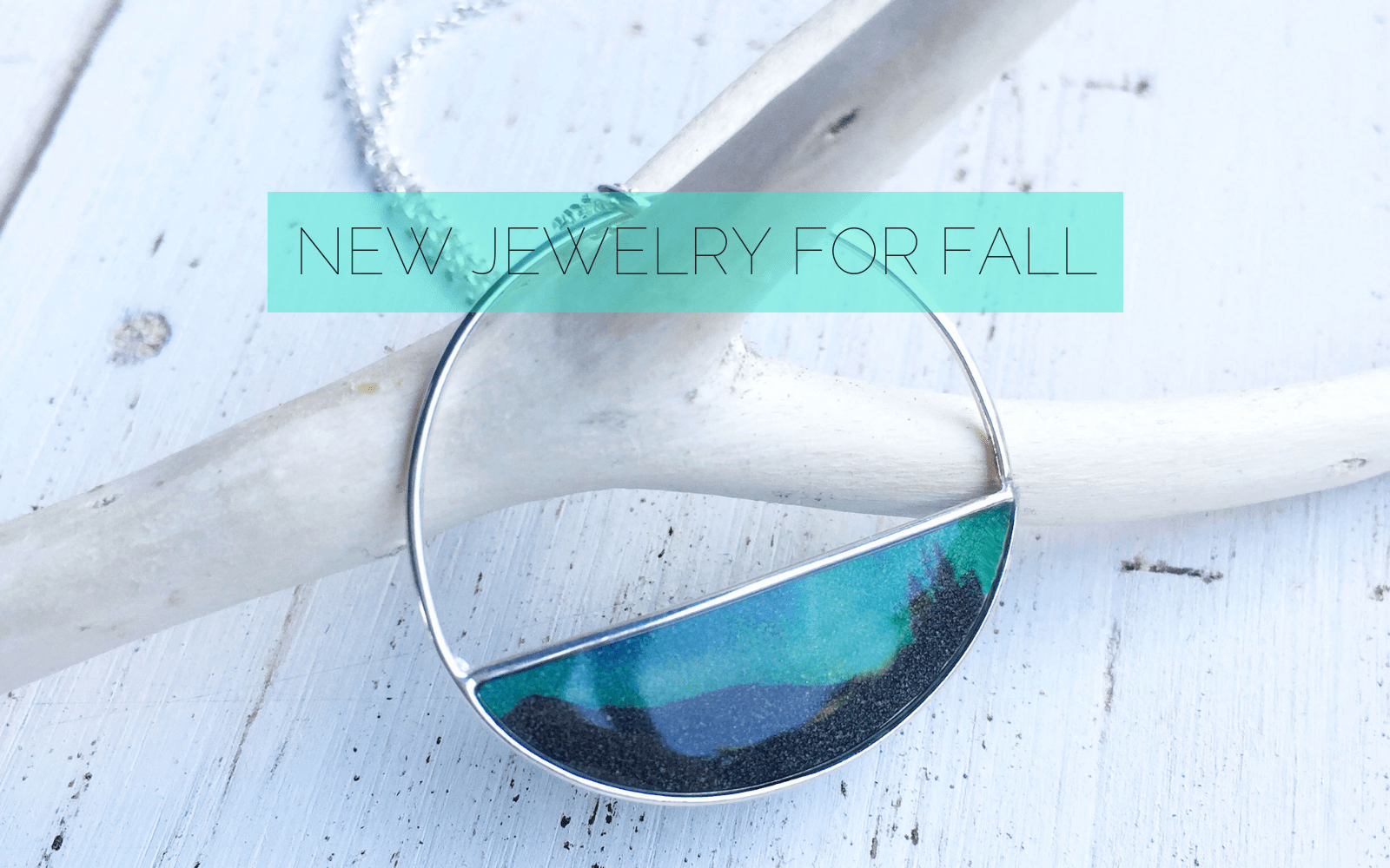 Fall Jewelry - Northern lights necklace