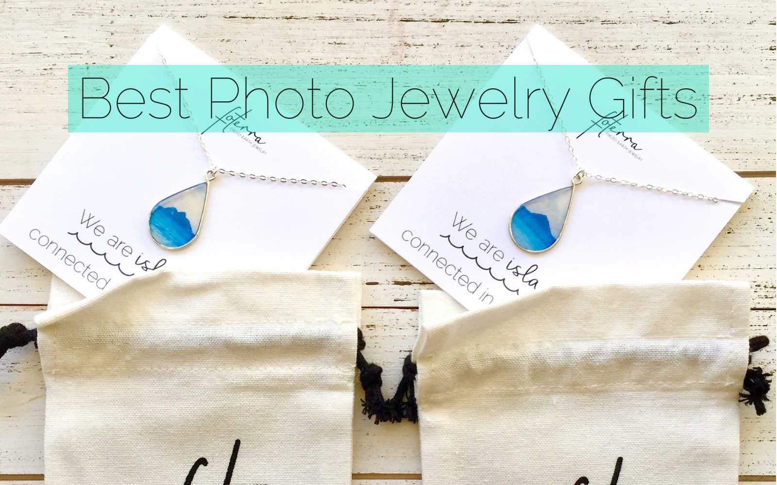 Photo Jewelry Gifts For Everyone on Your List