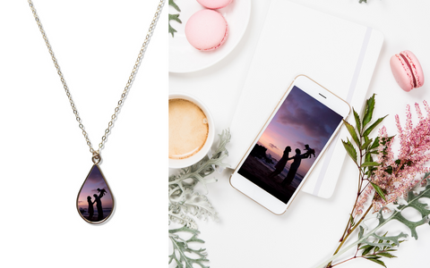 Custom Photo Jewelry for Mom