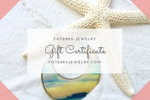 Foterra Jewelry Gift Card