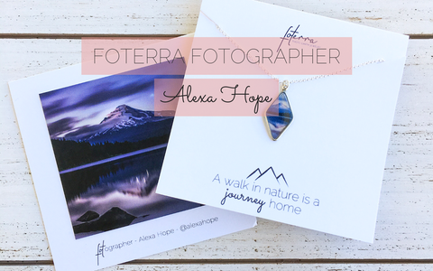 Mt. Hood Necklace - Photo Jewelry Foterra