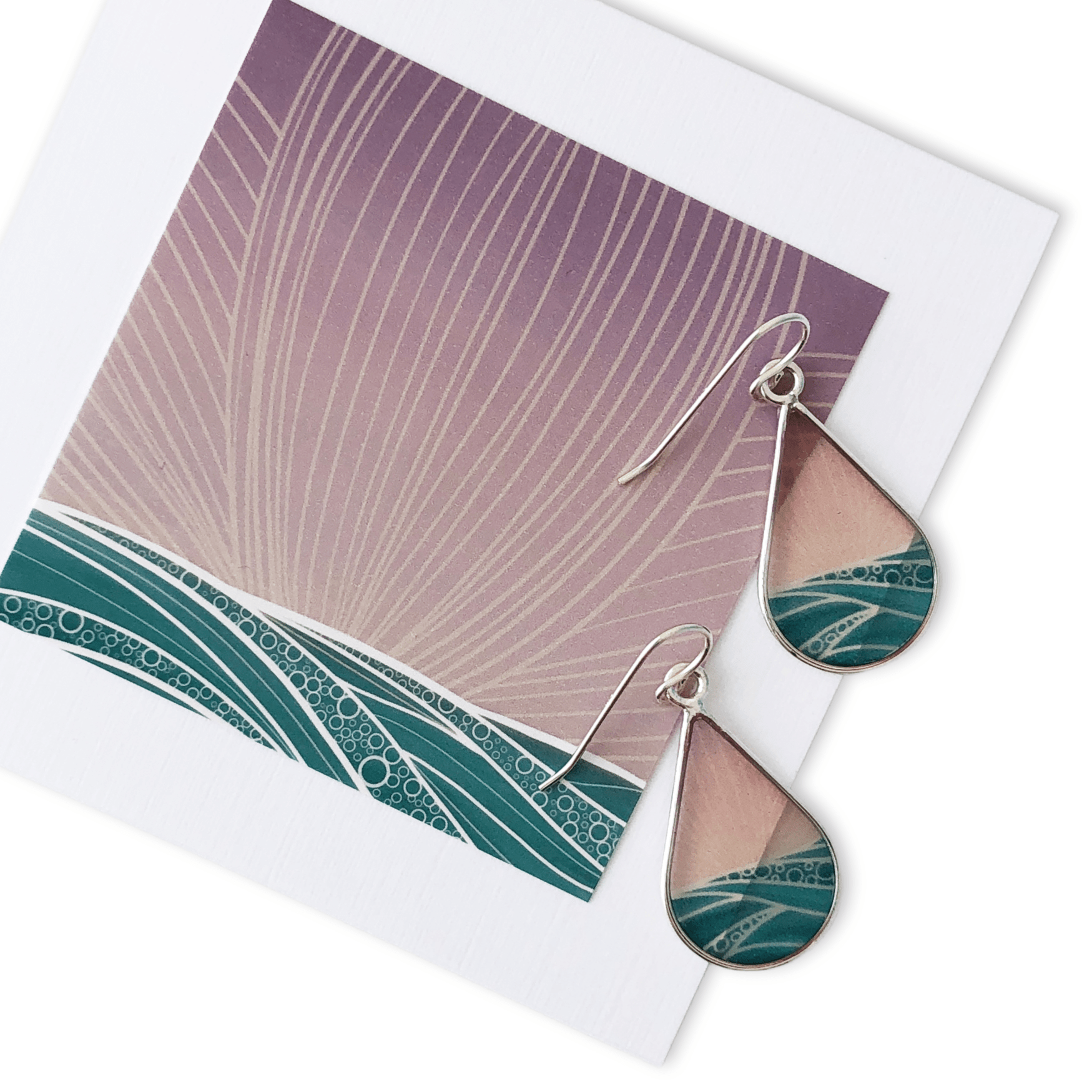 Bethany Strickland Art Earrings