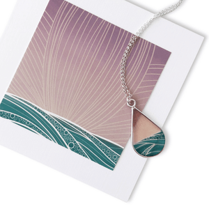 Bethany Strickland Art Necklace