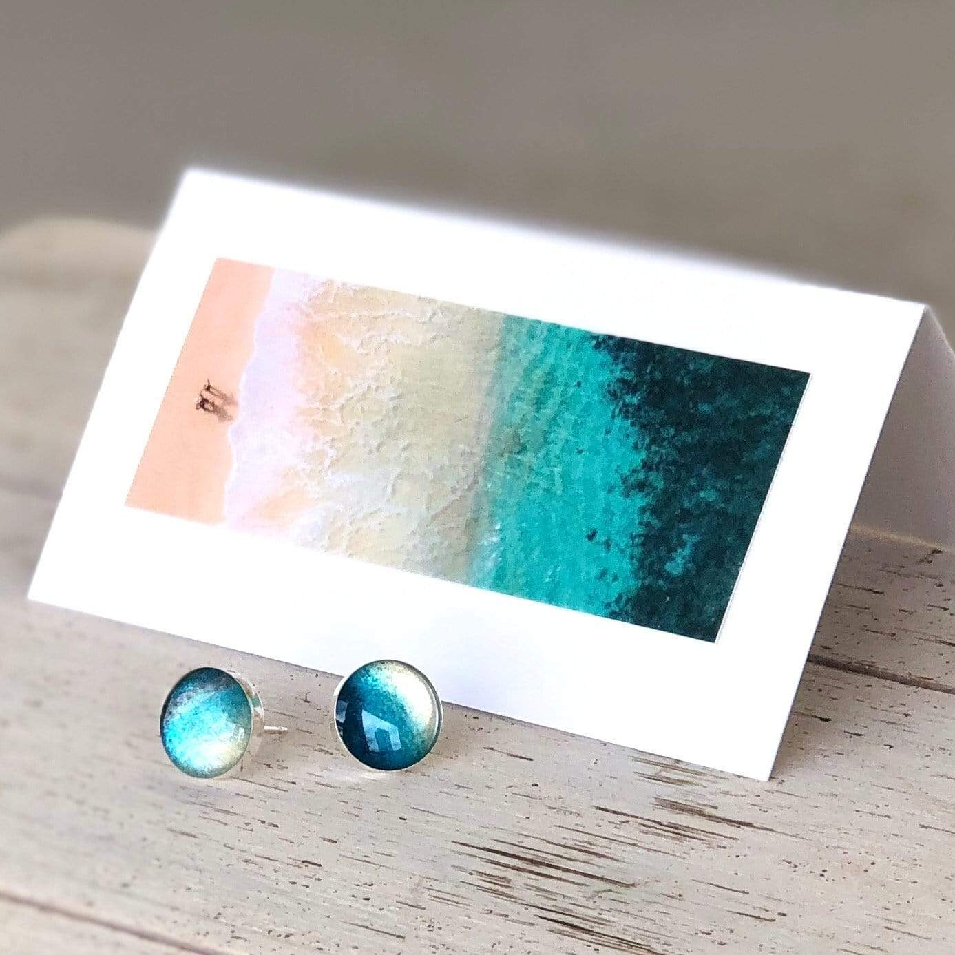 Rise With the Tide - Post Earrings