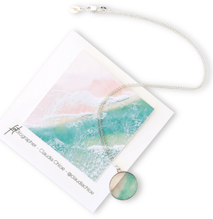 Good Things Come in Waves - Jersey Shore Circle Necklace