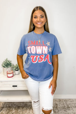 Small Town USA Graphic Tee