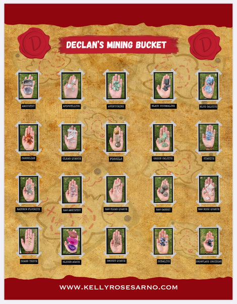 Declan's Mining Bucket - How to identify!