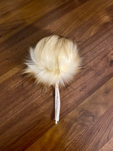 Load image into Gallery viewer, Faux-Fur Pom - Latte (made to order)