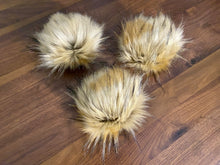 Load image into Gallery viewer, Faux-Fur Pom - Marmalade (ready to ship)