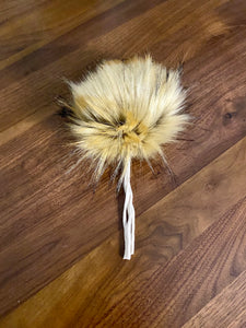Faux-Fur Pom - Marmalade (ready to ship)
