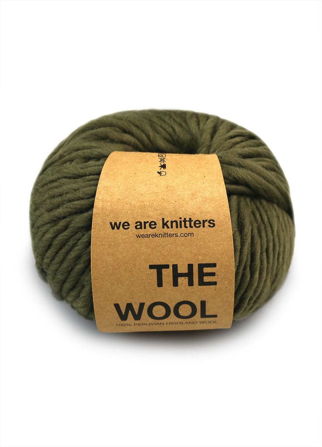 We Are Knitters The Wool - Olive