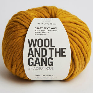 Wool and the Gang Crazy Sexy Wool - Bronzed Olive
