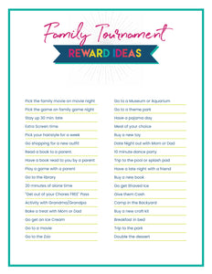 Family Tournament Game
