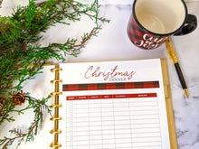 Load image into Gallery viewer, 20 Page Christmas Planner