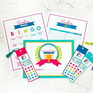 Kids Reading Program Printables