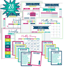 Load image into Gallery viewer, Home Management Printables - MASTER BUNDLE
