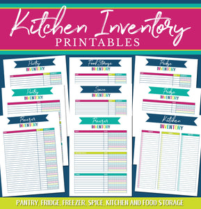 Home Management Printables - MASTER BUNDLE