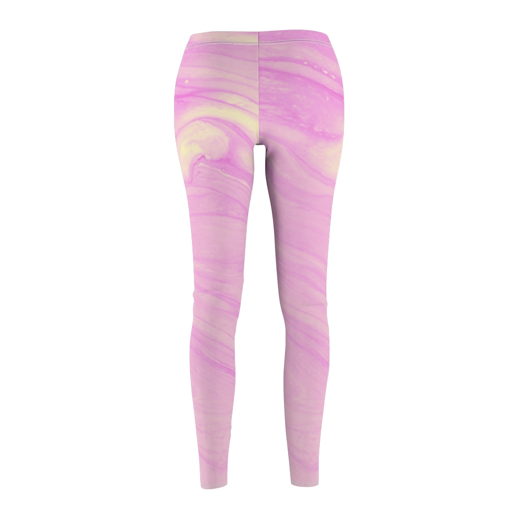 Pink Swirl Leggings