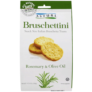 Bruschettini Rosemary and Sage By Astur 4.2 oz - [Premium Italian Food at Home ]