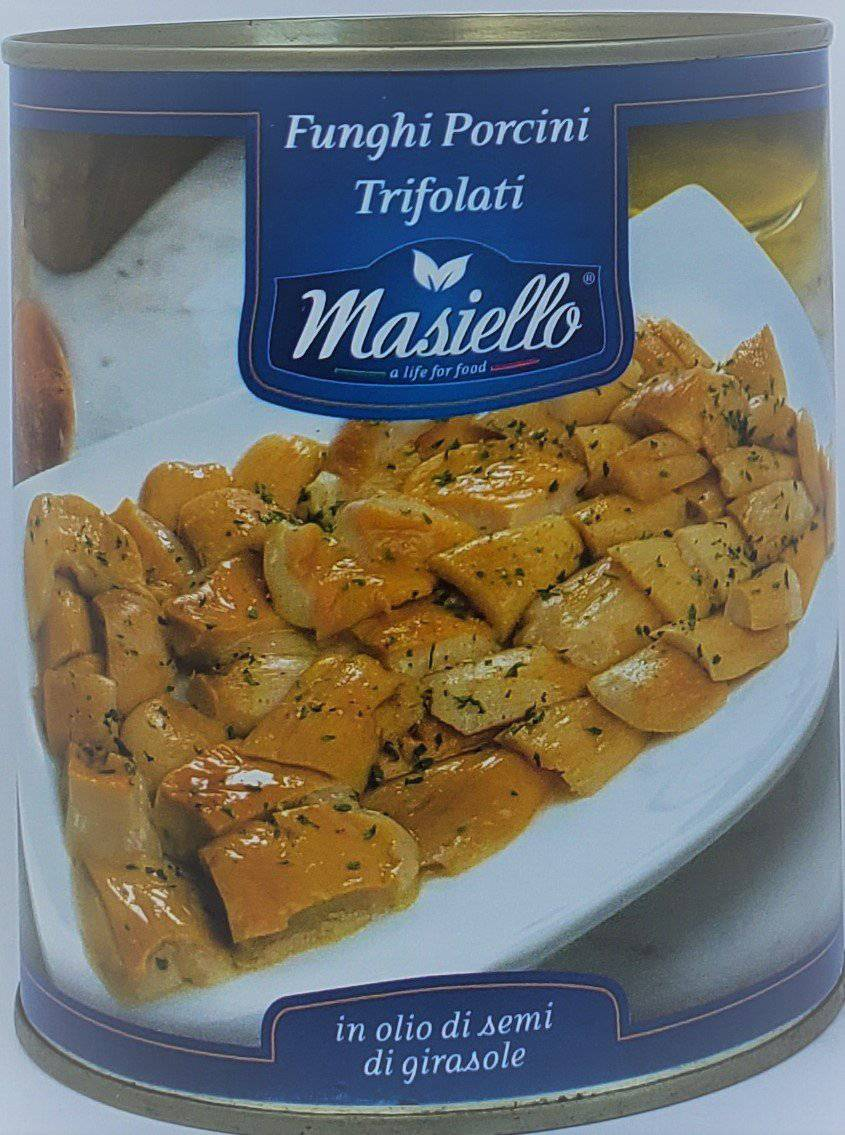 Sauteed Porcini Mushroom I Contornelli by Masiello 850gr - [Premium Italian Food at Home ]