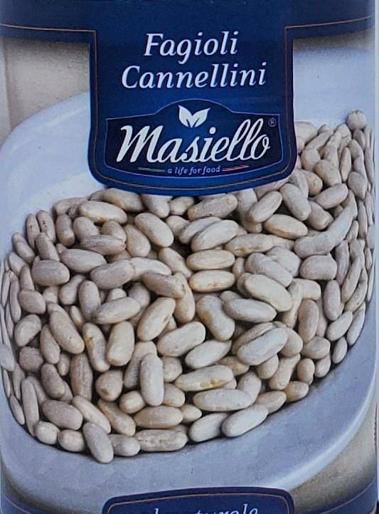 Cannellini Beans by Masiello 400gr - [Premium Italian Food at Home ]