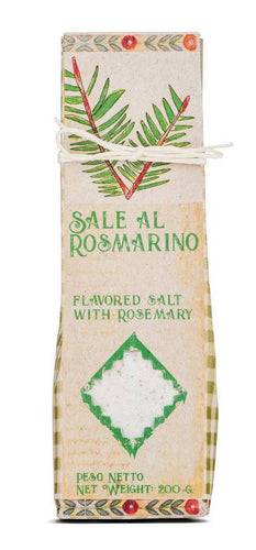 Casarecci Flavored Salt with Rosemary, by Casaracci di Calabria 7 oz - [Premium Italian Food at Home ]