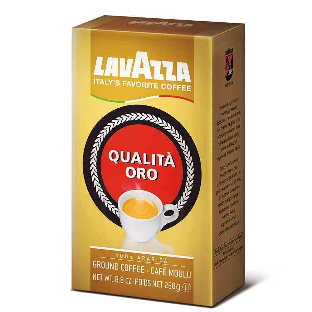 Lavazza Oro Coffee Premium Selection | Ground Coffee Brick by Lavazza - 8.8 oz. - [Premium Italian Food at Home ]