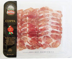 Beretta Coppa Sliced Salumi 6 oz - [Premium Italian Food at Home ]