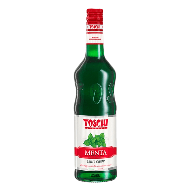 Mint Syrup by Toschi (1 Liter) - 33.8 fl oz - [Premium Italian Food at Home ]