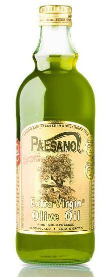 Paesano Organic Unfiltered Sicilian Extra Virgin Olive Oil  by Paesano 500 ml - [Premium Italian Food at Home ]