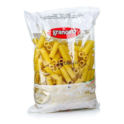 Rigatoni Pasta  by Granoro 16 oz - [Premium Italian Food at Home ]
