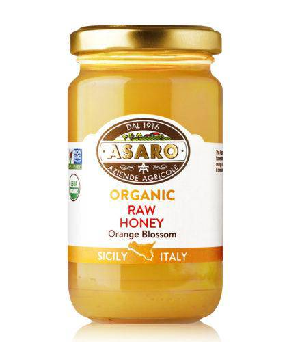 Organic, Raw Orange Blossom Honey | by Asaro Farm 7 oz - [Premium Italian Food at Home ]
