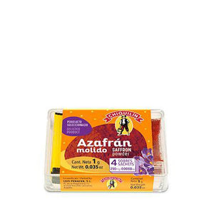 Saffron powder Zafferano in Polvere by Chiquilin 4/0.25gr - [Premium Italian Food at Home ]