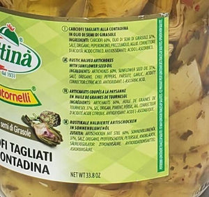 Rustic Halved Artichokes I Contornelli by Attina' - [Premium Italian Food at Home ]