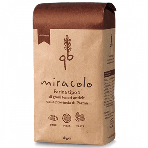 Molino Grassi Miracle Soft Wheat Flour, 2.2lbs - [Premium Italian Food at Home ]