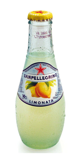 San Pellegrino Limonata Glass organic 6.8oz pack of 4 - [Premium Italian Food at Home ]