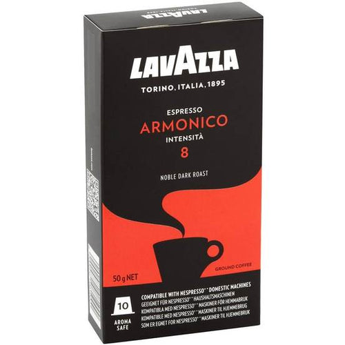 Lavazza Nespresso Machine Compatible Armonico Espresso Capsules - [Premium Italian Food at Home ]