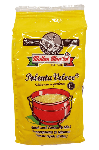 La Veronese (Molino Martini) Yellow Instant Polenta Veloce, 500 grams - [Premium Italian Food at Home ]
